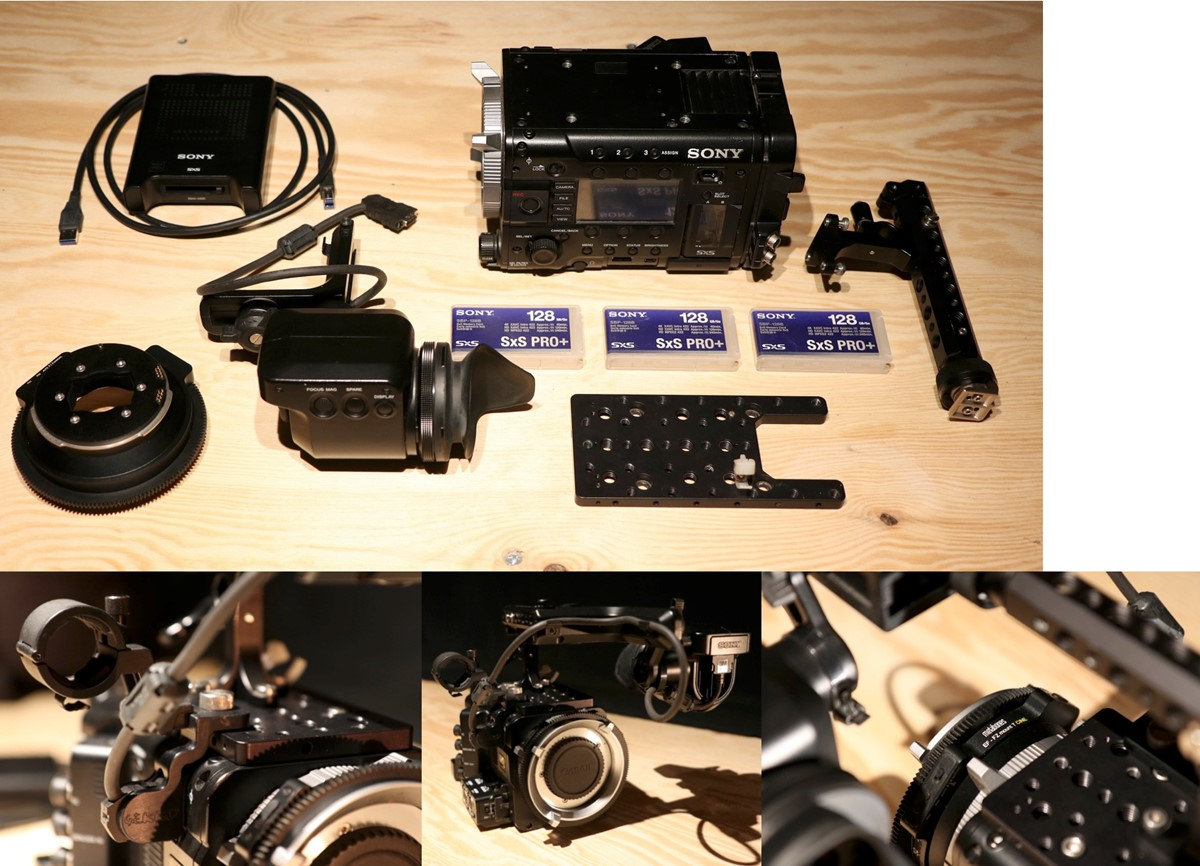 Sony F55 with only 309 hours use!
