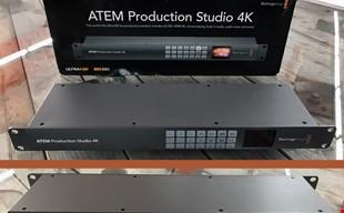 Black Magic Design- ATEM Production studio 4K