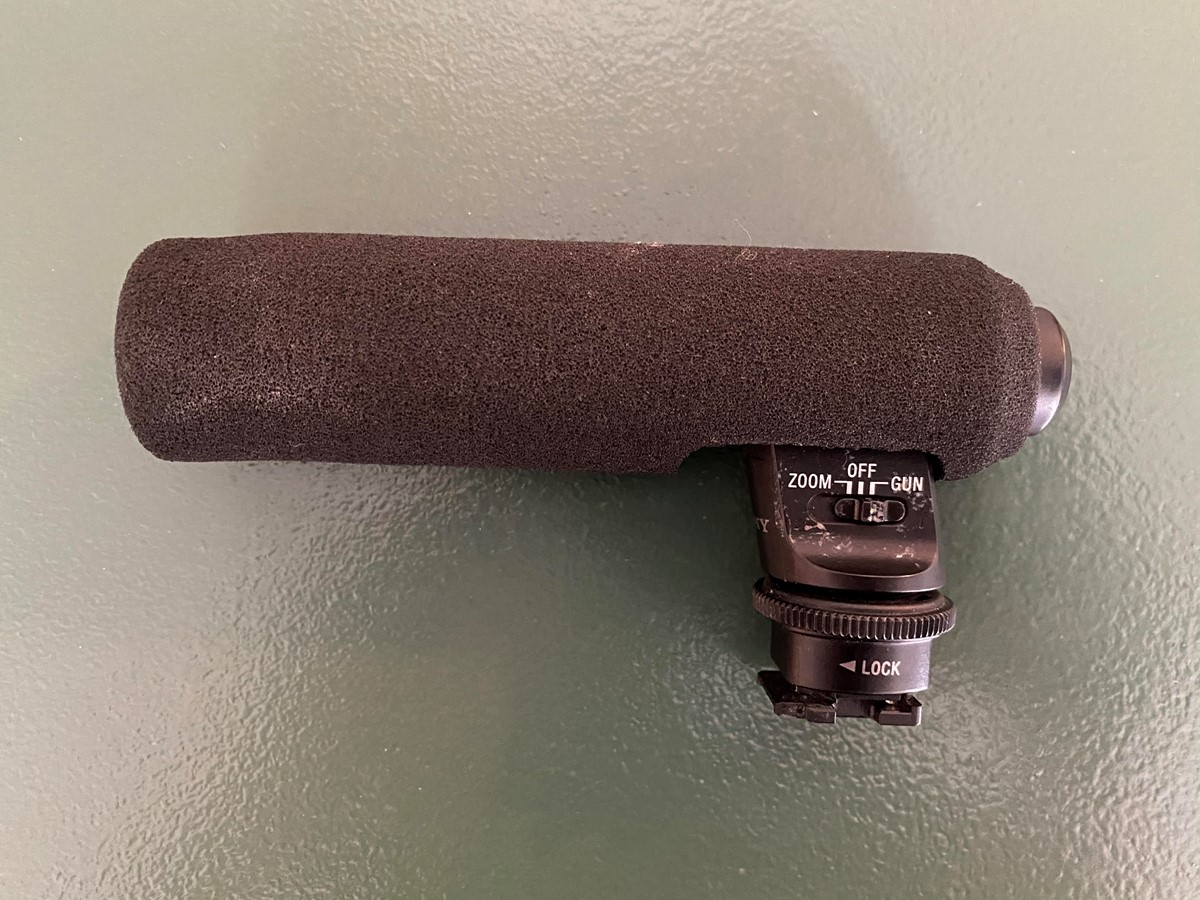 Sony Gun Zoom Mikrofon ECM-GZ1M