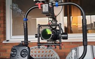 Komplett filmutrustning Blackmagic 4k Gimbal
