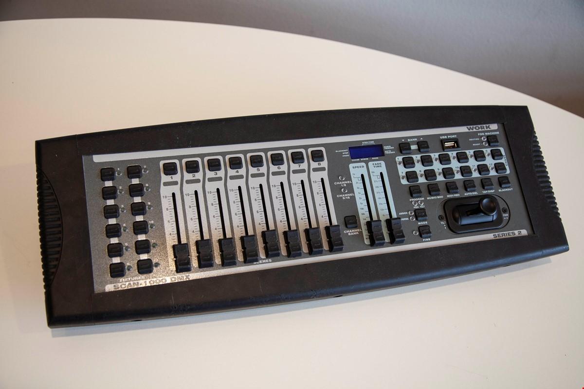 Scan 1000 DMX Controll