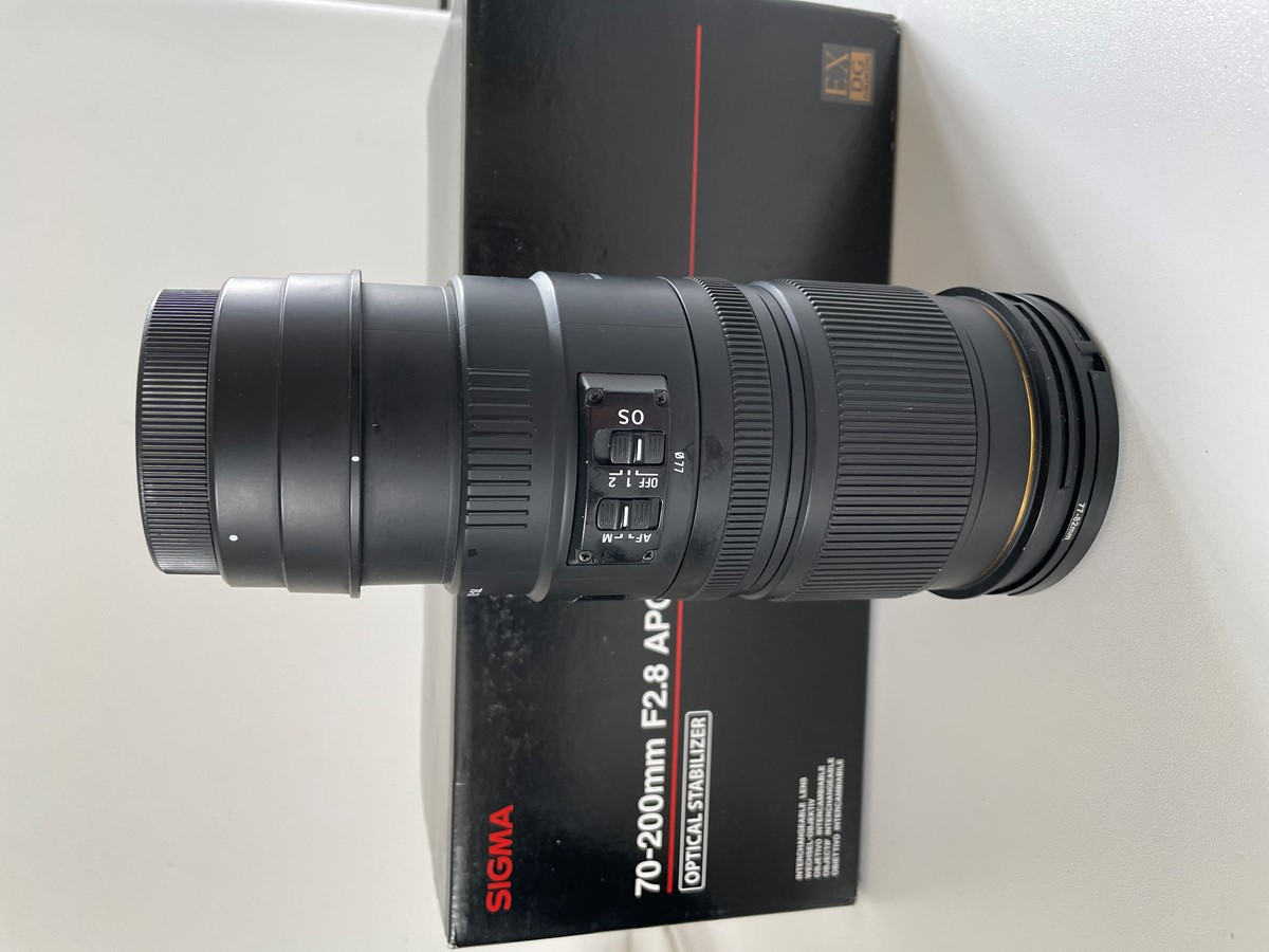Sigma 70-200 2.8 EX apo dg hsm till Canon