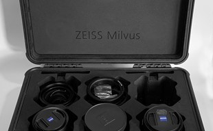 Zeiss Mlivus Set (35mm 1.4 50mm 1.4 85mm 1.4) Ink hardcase och focusring