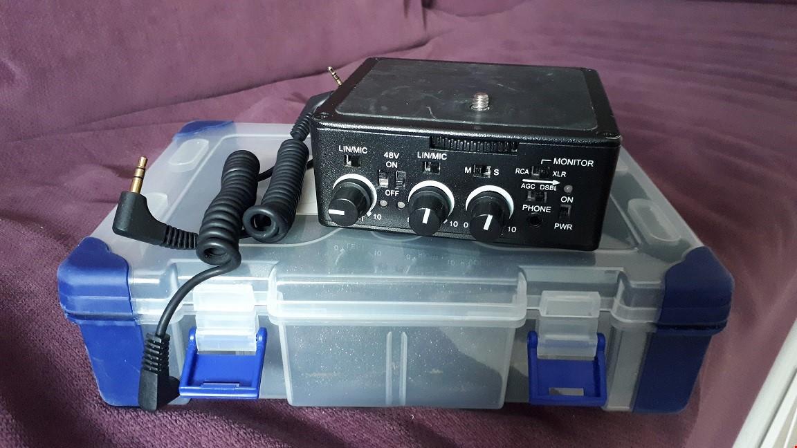 XLR-audio adapter