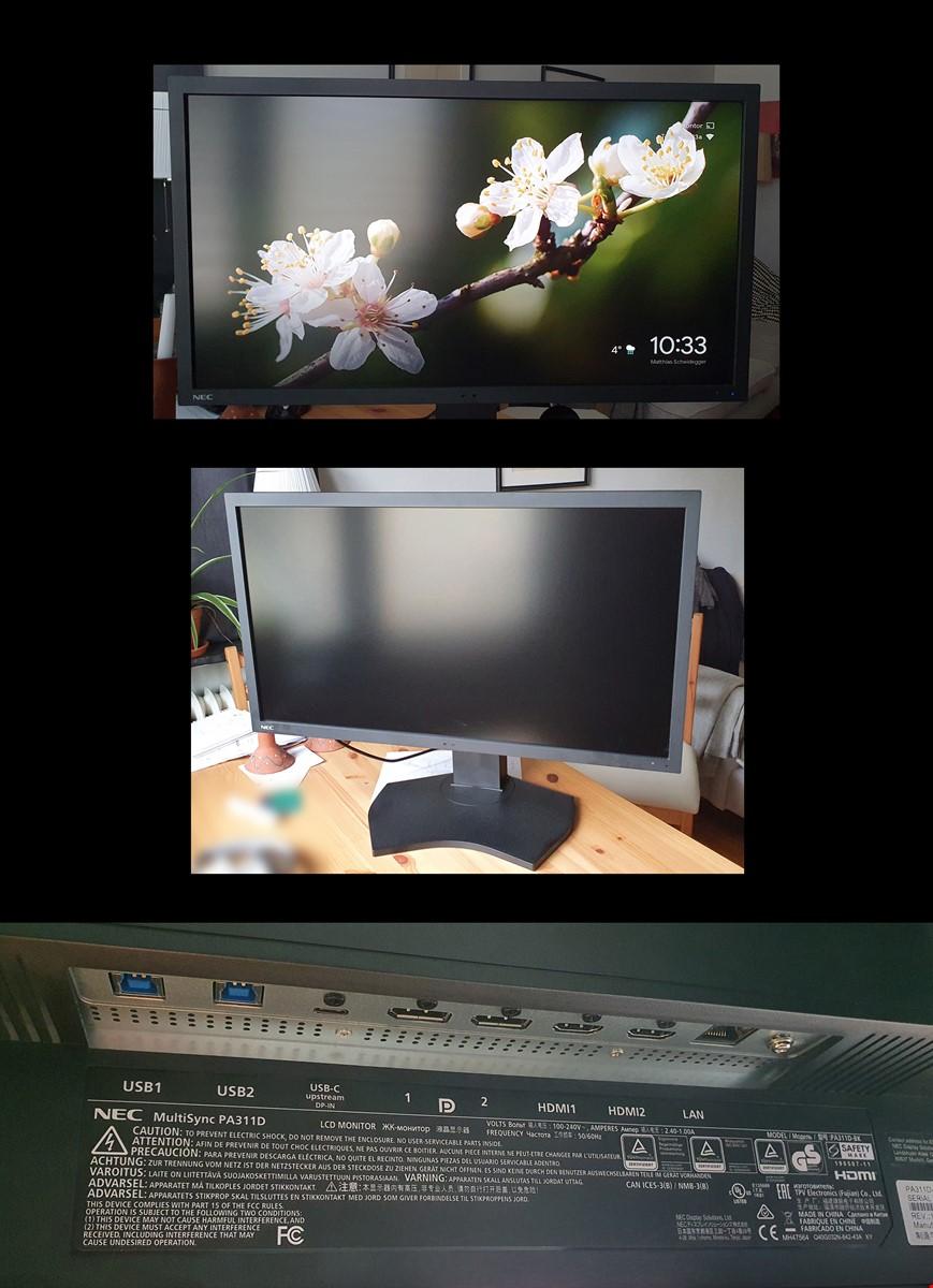Bildskärm 4K (4096 x 2160), 32 tum