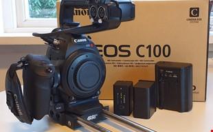 Canon C100 + Arri baseplate