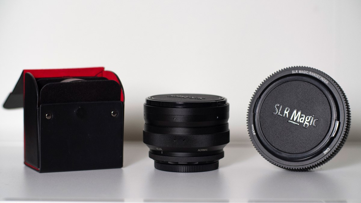 SLR Magic anamorphot 1.33x -50 ink. SLR Magics Rangefinder & Diopters.