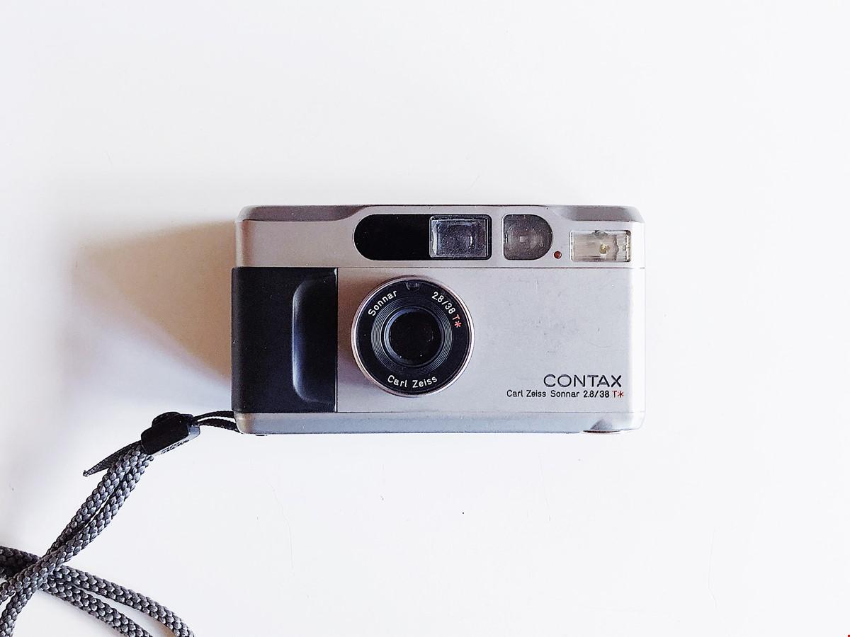 Contax T2 35mm Analog Kompaktkamera