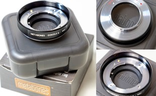 Metabones Contax G till m4/3 adapter