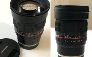 Samyang MF 85mm /1,4 Sony E-mount