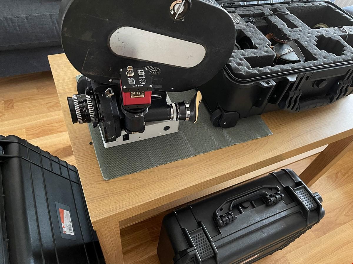 Arri 2c med PL-mount, HD video assist & ett objektiv