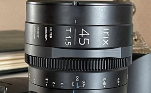 Irix 45mm T1.5 Cine Lens - Pl-fattning