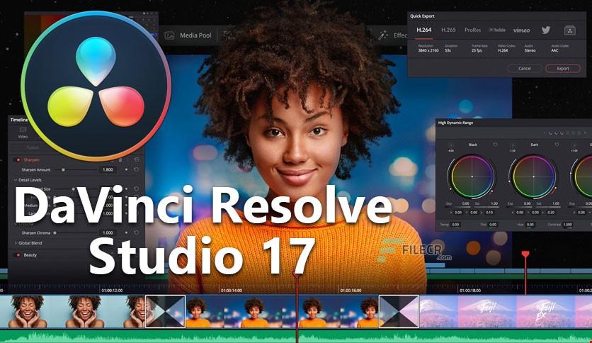 Davinci Resolve Studio License 17