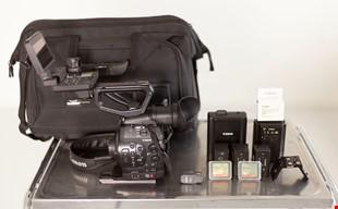 Fin Canon EOS C300 med tillbehör