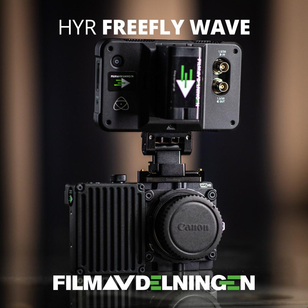 Hyr Freefly Wave för super slowmotion.