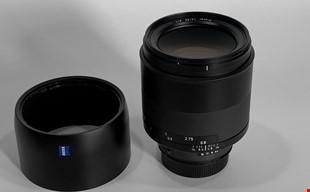 Zeiss Milvus 85mm 1.4 ZF.2 Nikon modded med EF adapter
