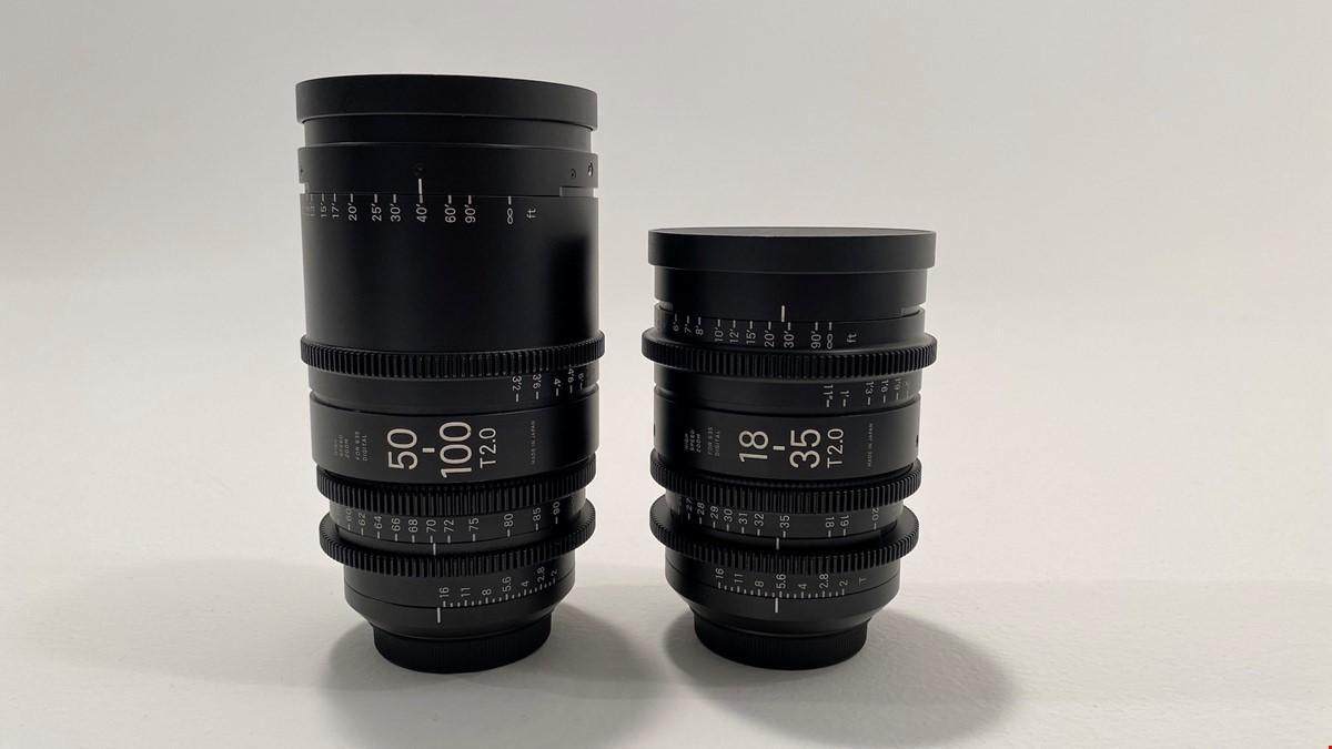Sigma CINE 18-35mm & 50-100mm T2 EF mount