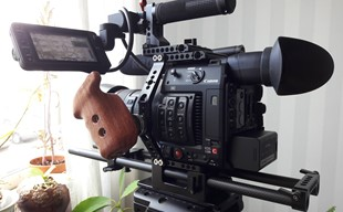 Canon C200, EF 24-105 Mark II, Sirui stativ, övr. foto/video