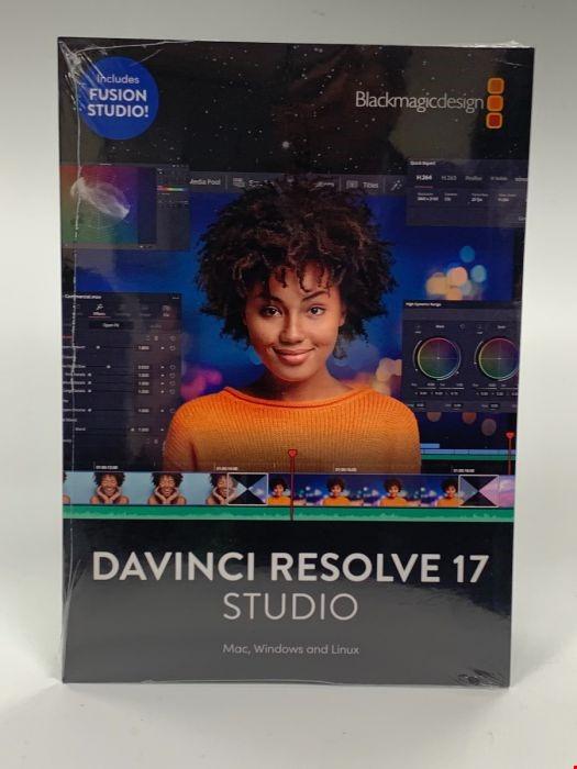 Davinci resolve studio 17