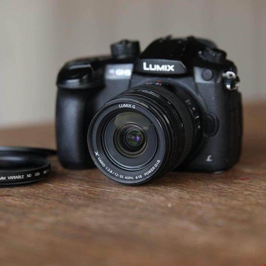 Panasonic GH5 med 12-35 mm lumix f/2.8