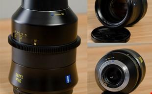 Zeiss Otus 85mm f1.4 Cinemoddad as Duclos Lenses