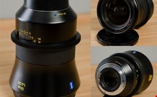 Zeiss Otus 28mm f1.4 Cinemoddad as Duclos Lenses