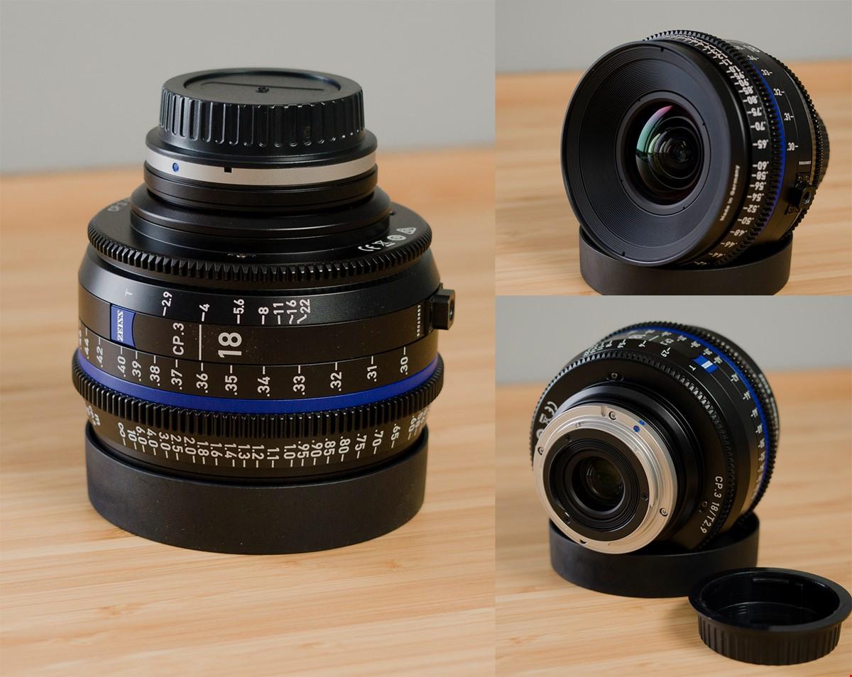 Zeiss CP3 18mm f2.9 EF-mount
