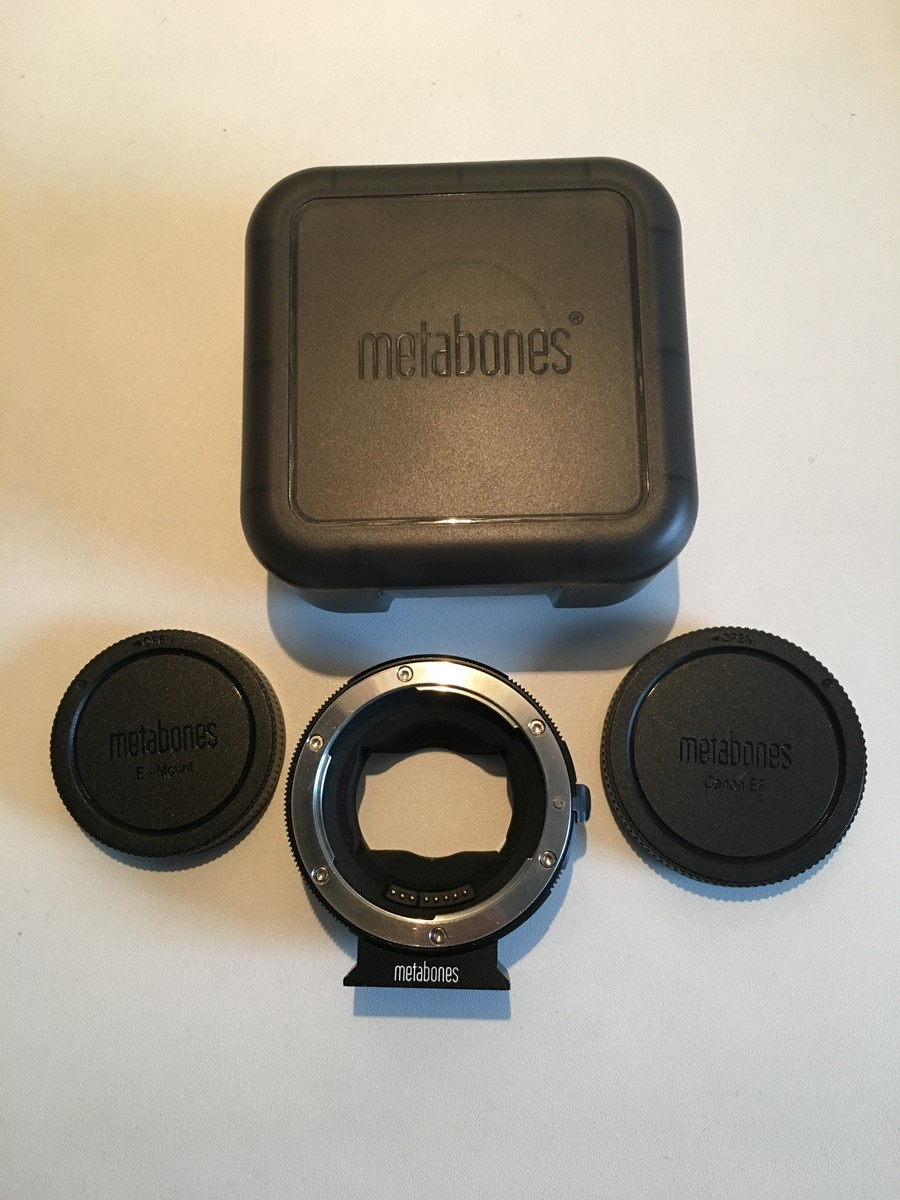 Metabones Canon EF to E mount - Mark IV