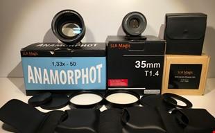 SLR MAGIC ANAMORPHOT ADAPTER 1.33X , 50 + diopter set