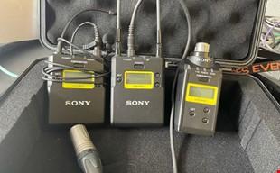 UWP-D26 Kit med mygga, sändare, mottagare och XLR-sändare