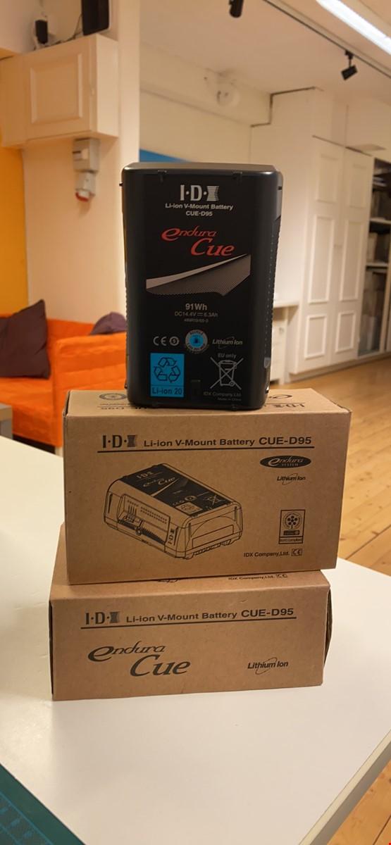 IDX D95 Vmount batteri 2st