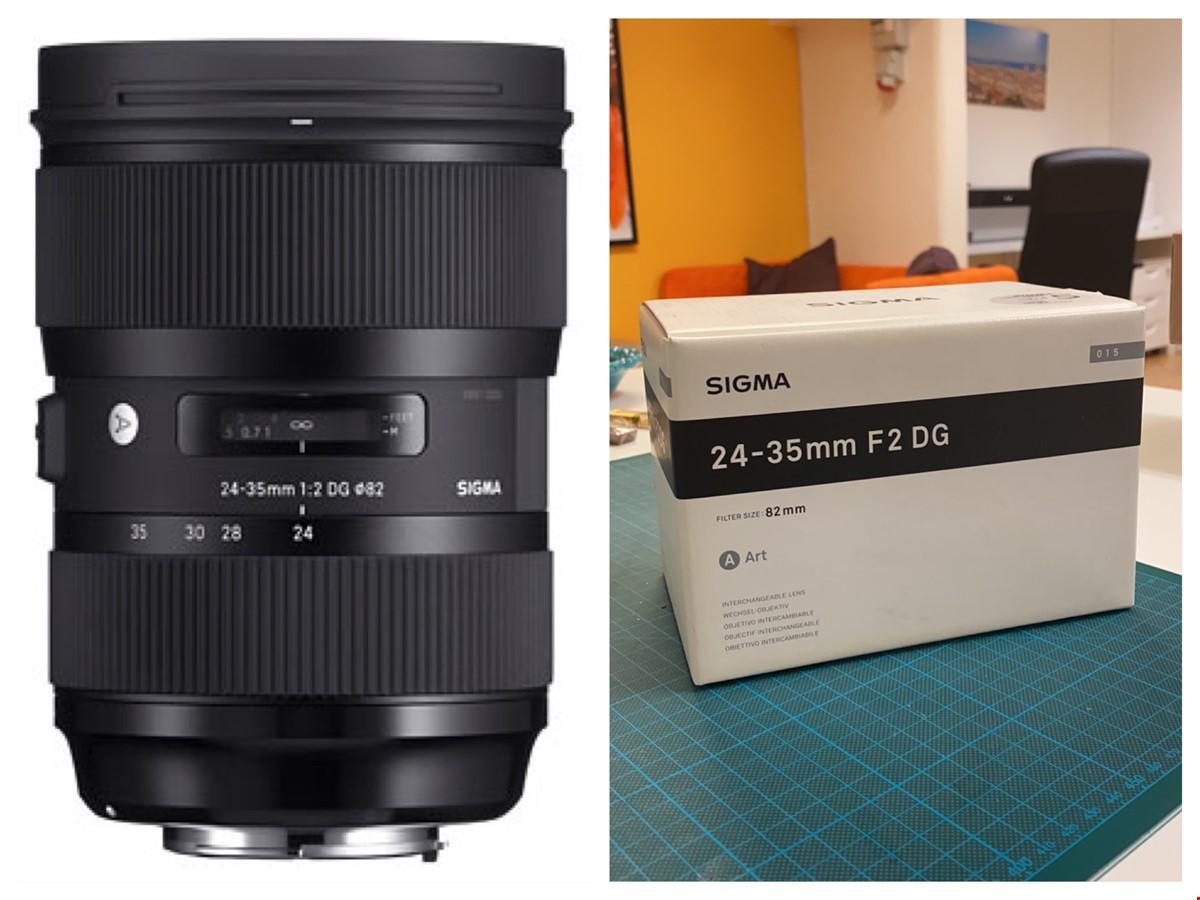 Sigma 24-35/2 DG HSM Art - Canon