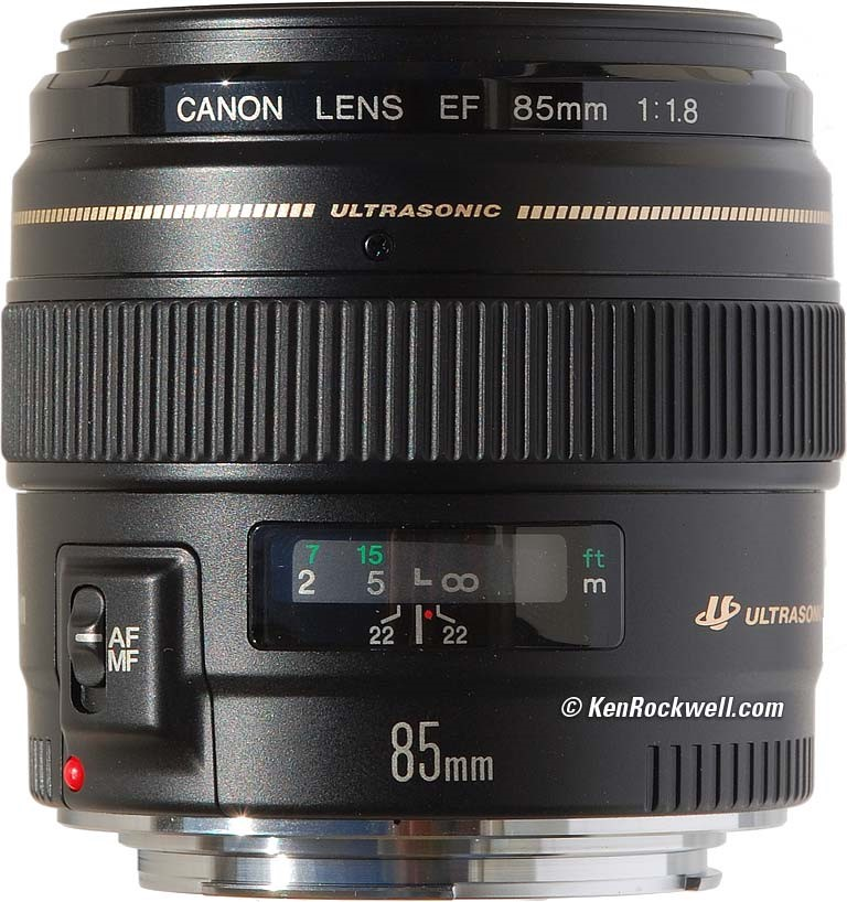 Canon EF 85 mm/1,8 USM