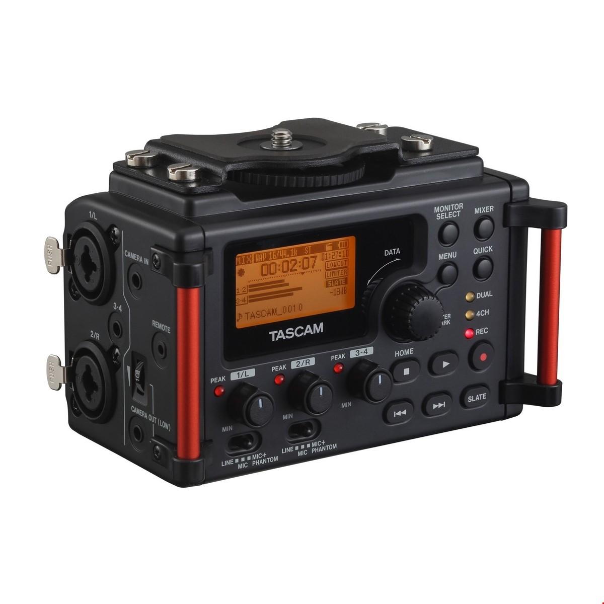 Tascam DR-60D MkII recorder