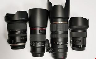 Objektiv med Canon fäste