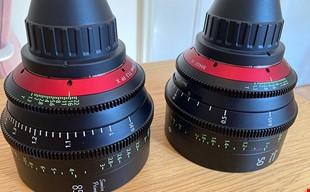 Canon Sumire Prime T 1,3 85 mm, 50 mm