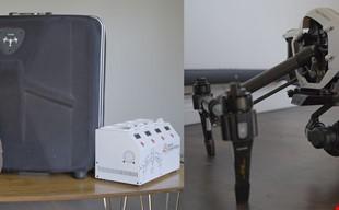 DJI Inspire med X5r-kamera och massor av tillbehör