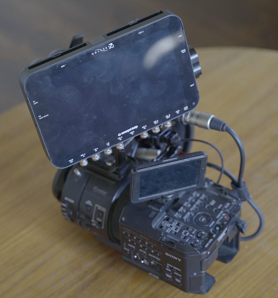 Sony FS700 & Odyssey 7Q Recorder mm.
