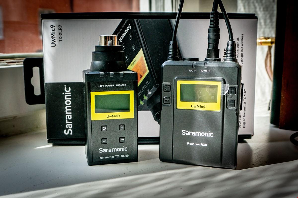 Saramonic UwMic9 Trådlös system