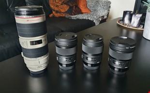 Objektiv Canon EF - Canon 70-200 2.8 II - Sigma Art